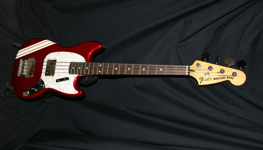 fender mustang pawnshop bass